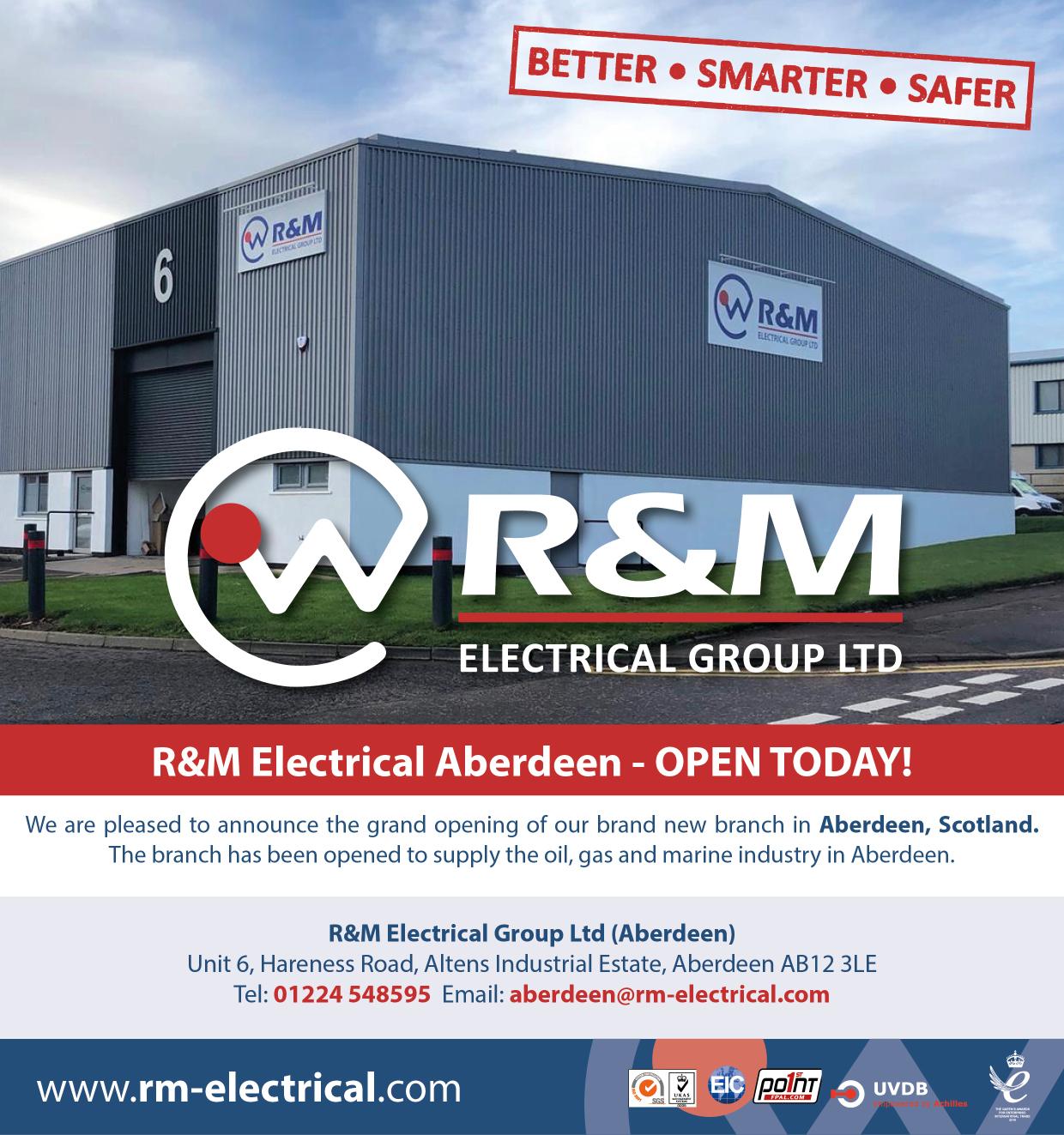 R U0026m Electrical Aberdeen - Open Today